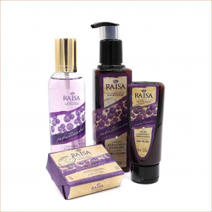 kit cosmeticos naturais raisa